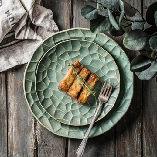 PopsicleSocietyShop_Lotus leaf ceramic plate_nature