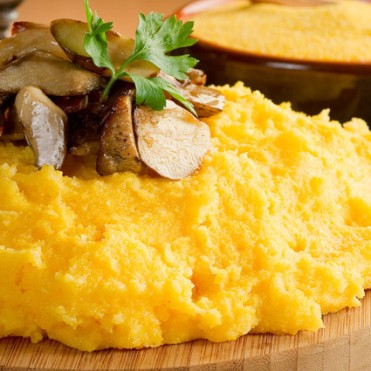 Polenta with mushrooms_Popsicle Society