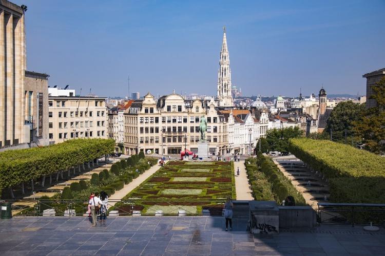 Mont des Arts Brussels