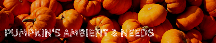 Pumpkin ambient & needs_Popsicle Society