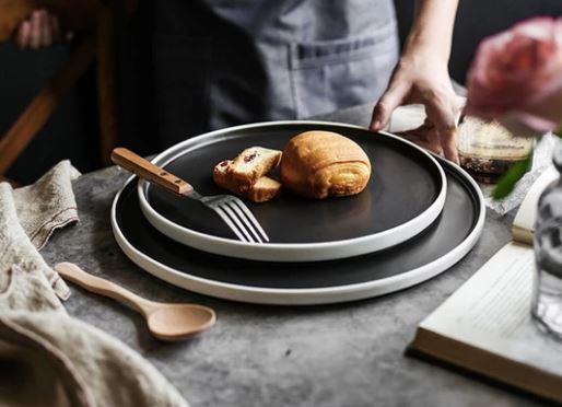 Ceramic round flat tableware_Popsicle Society Shop