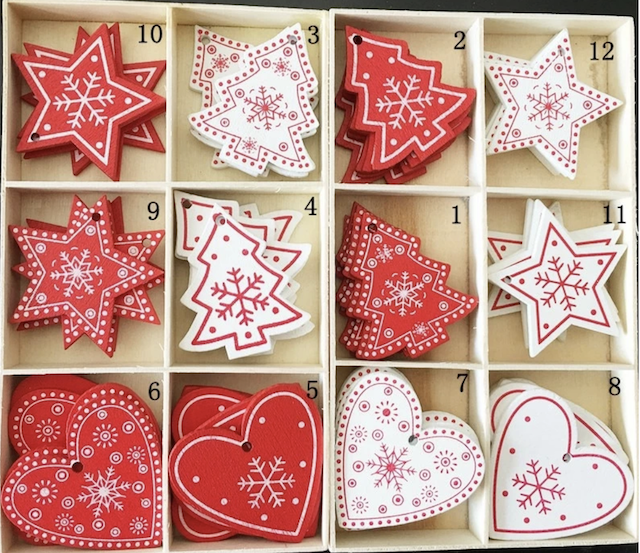 Wooden Christmas Hanging Ornaments_Popsicle Society Shop