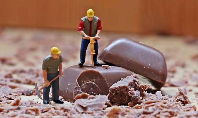 Chocolate miniature figure_Popsicle Society